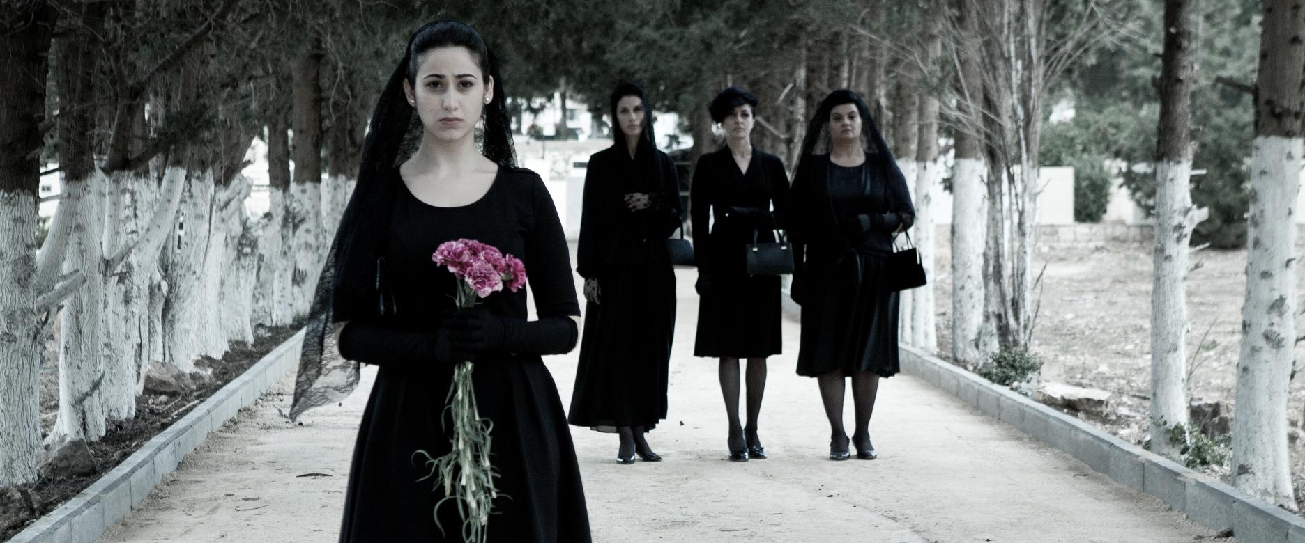 Villa Touma: le quattro protagoniste in una scena del film di Suha Arraf