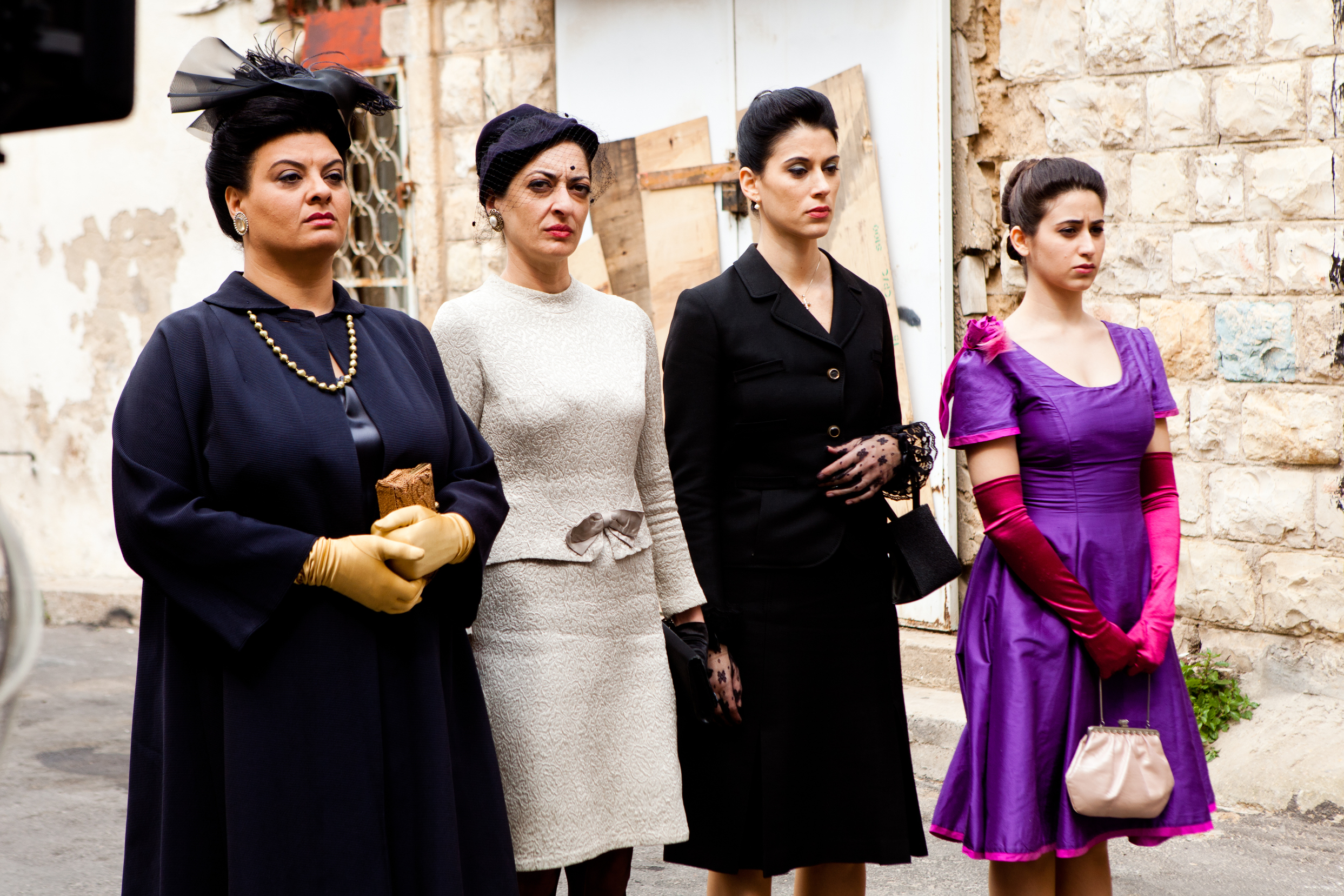 Villa Touma: le quattro protagoniste in una seqeunza del dramma di Suha Arraf