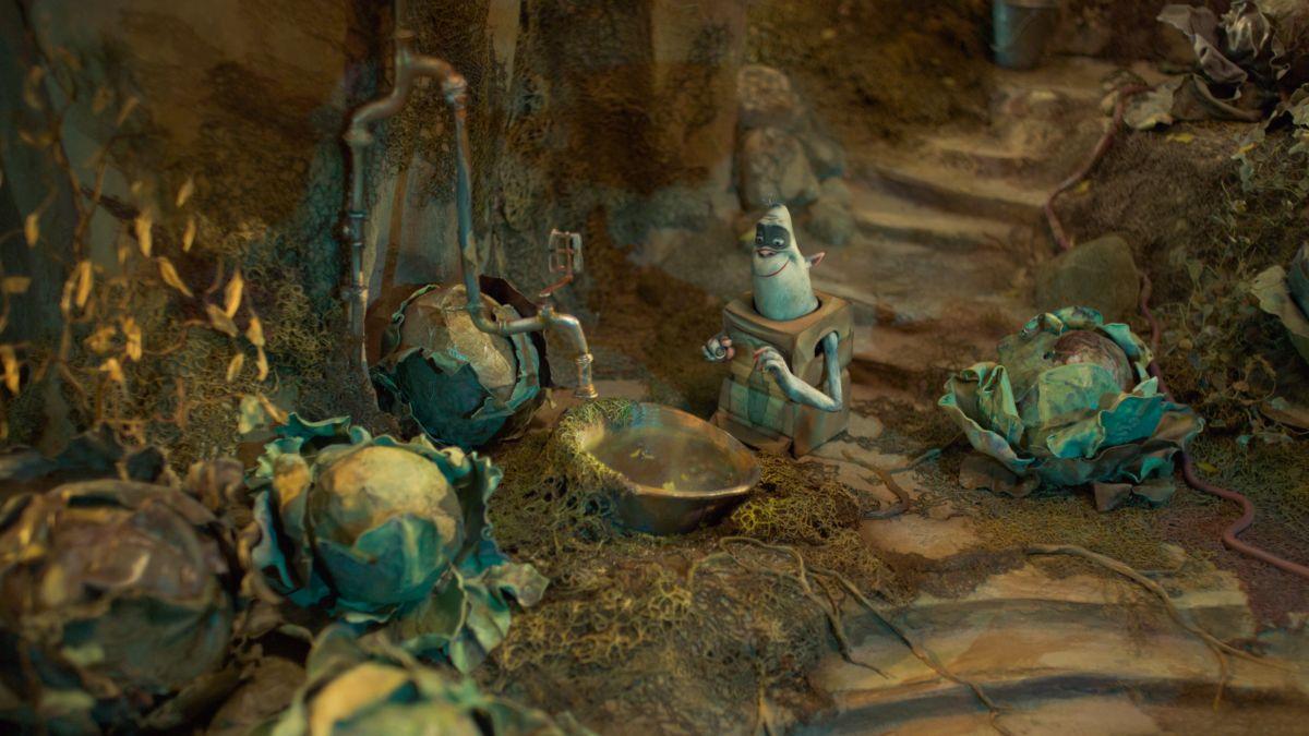 BoxTrolls - Le scatole magiche: una scena del film animato