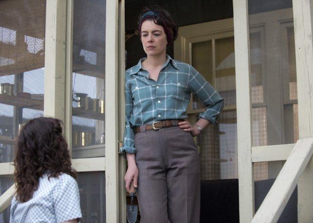 Manhattan: un'immagine di Olivia Williams nell'episodio Last Reasoning of Kings