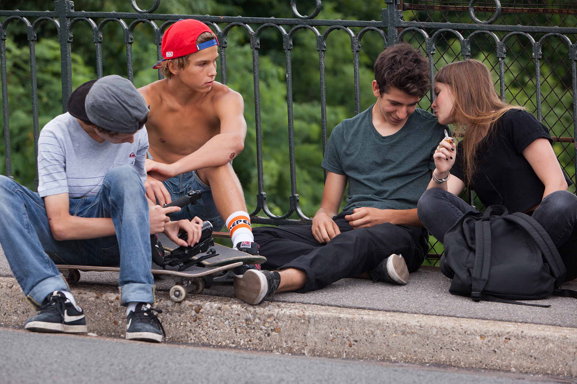 The Smell Of Us: una scena collettiva del film di Larry Clark