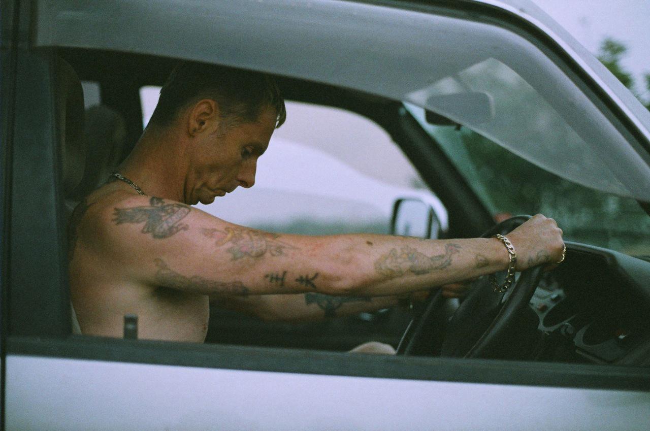 The Goob: Sean Harris in una scena del film di Guy Myhill