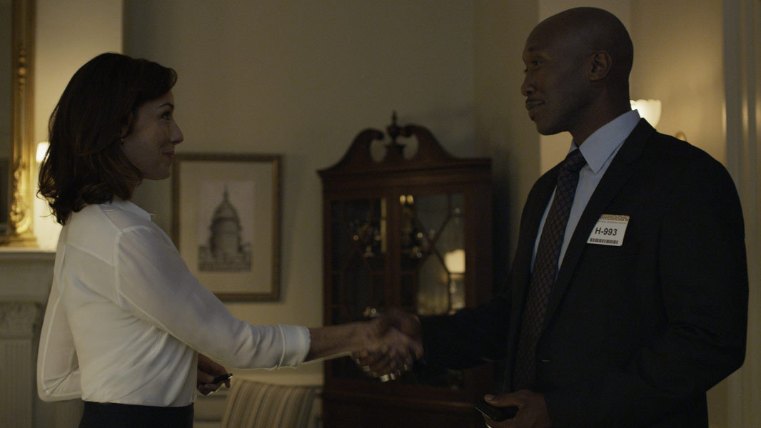House of Cards: Molly Parker e Mahershala Ali in Chapter 21