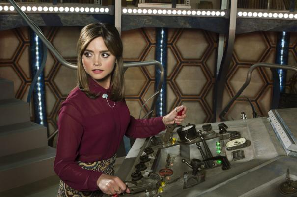 Doctor Who: Jenna Coleman nell'episodio Deep Breath, ottava stagione