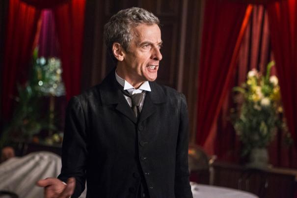 Doctor Who: una scena con Peter Capaldi, nell'episodio Deep Breath dell'ottava stagione