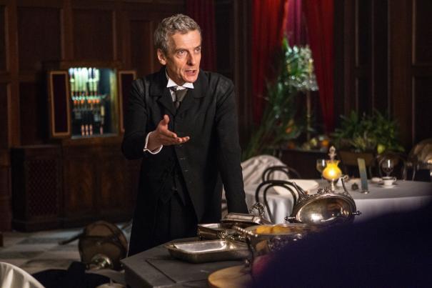 Doctor Who: un'immagine di Peter Capaldi nell'episodio Deep Breath, ottava stagione