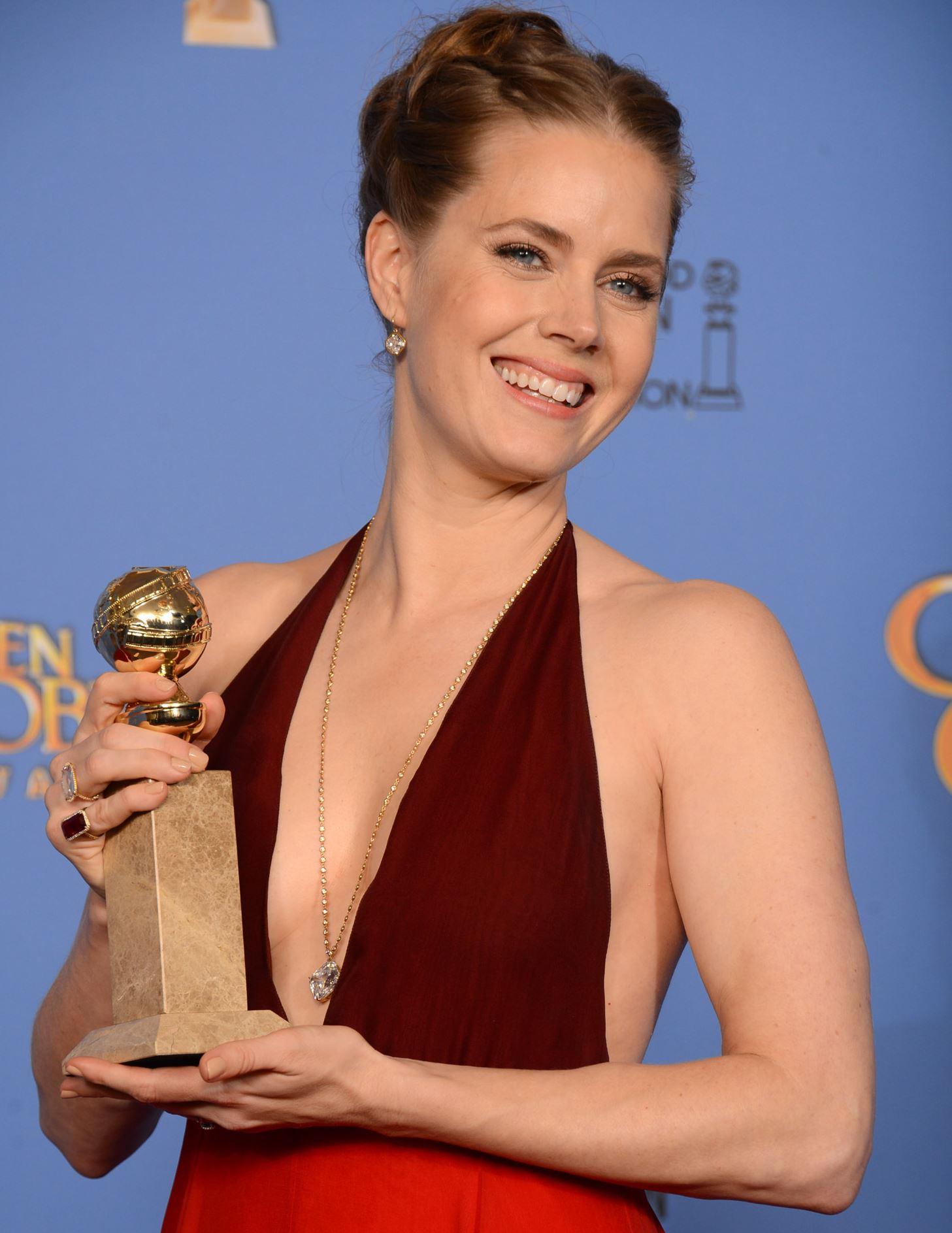 Amy Adams ai Golden Globe 2014