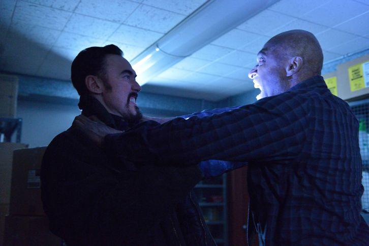 The Strain: Kevin Durant in una scena dell'episodio Ocultation