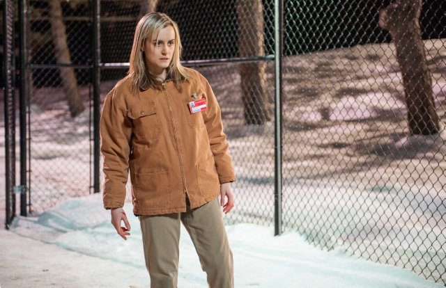 Orange Is the New Black: Taylor Schilling in Hugs Can Be Deceiving