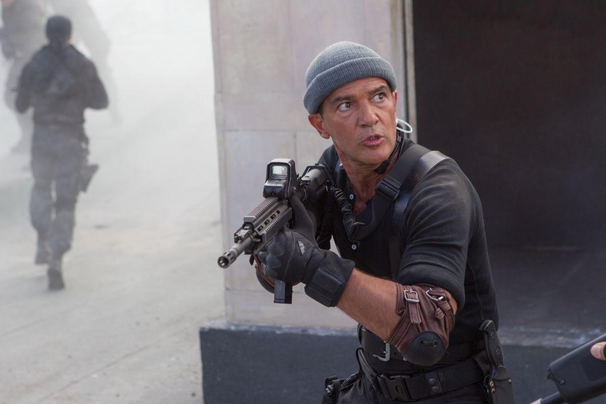 I mercenari 3 - The Expendables: Antonio Banderas in una scena del film