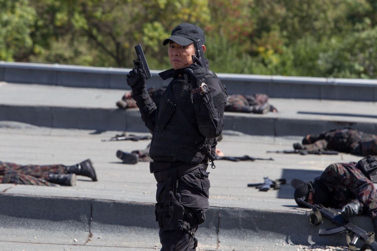 I mercenari 3 - The Expendables: Jet Li in una scena del film