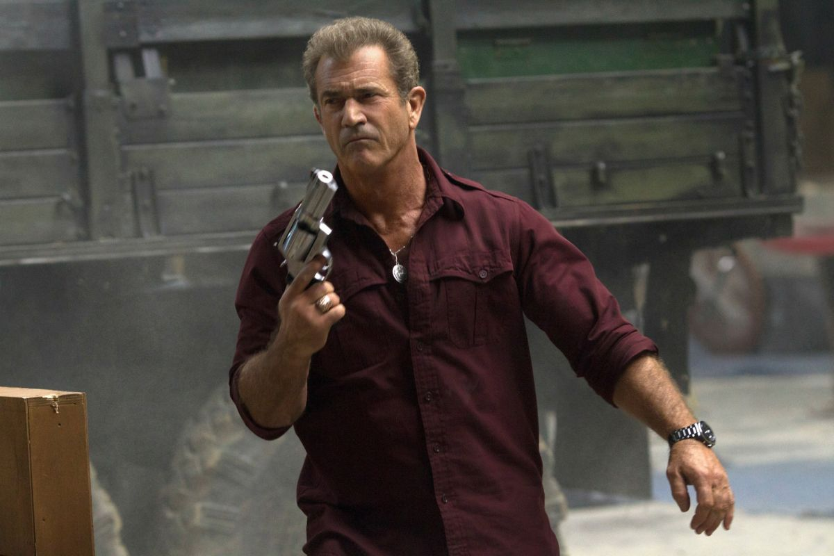 I mercenari 3 - The Expendables: Mel Gibson in una scena del film