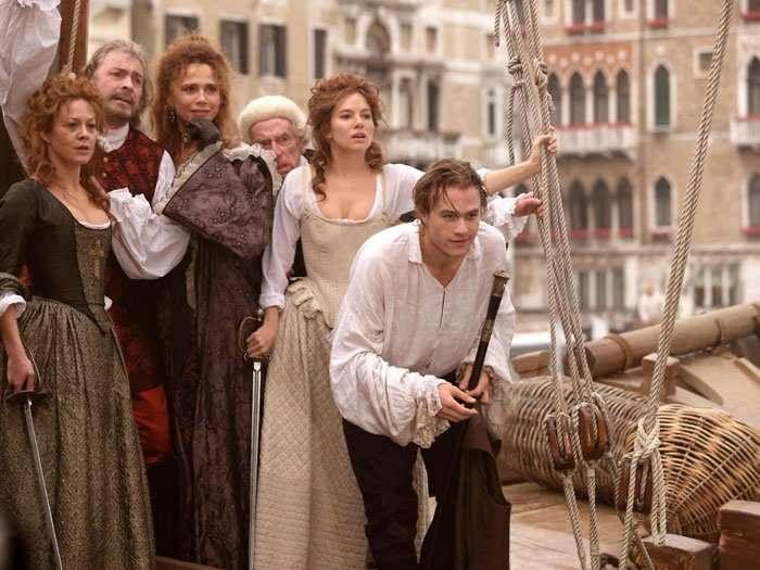 Casanova: Heath Ledger nel film di Lasse Halstrom