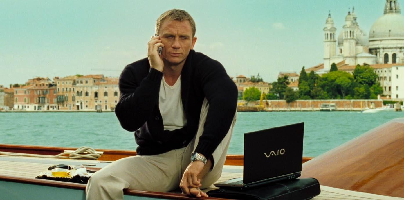 Casino Royale: James Bond/ Daniel Craig in scena a Venezia
