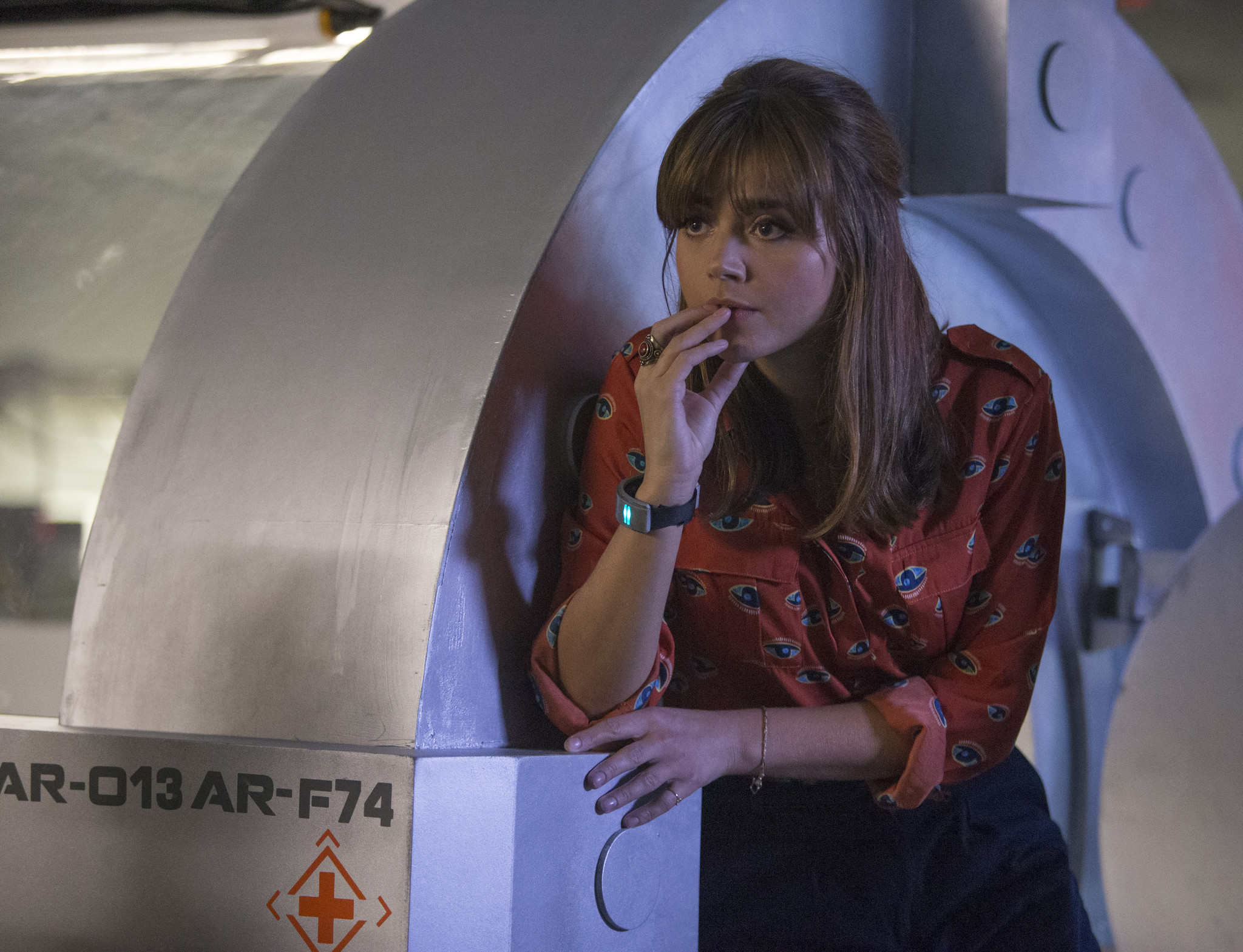Doctor Who: Jenna-Louise Coleman nell'episodio Into the Dalek