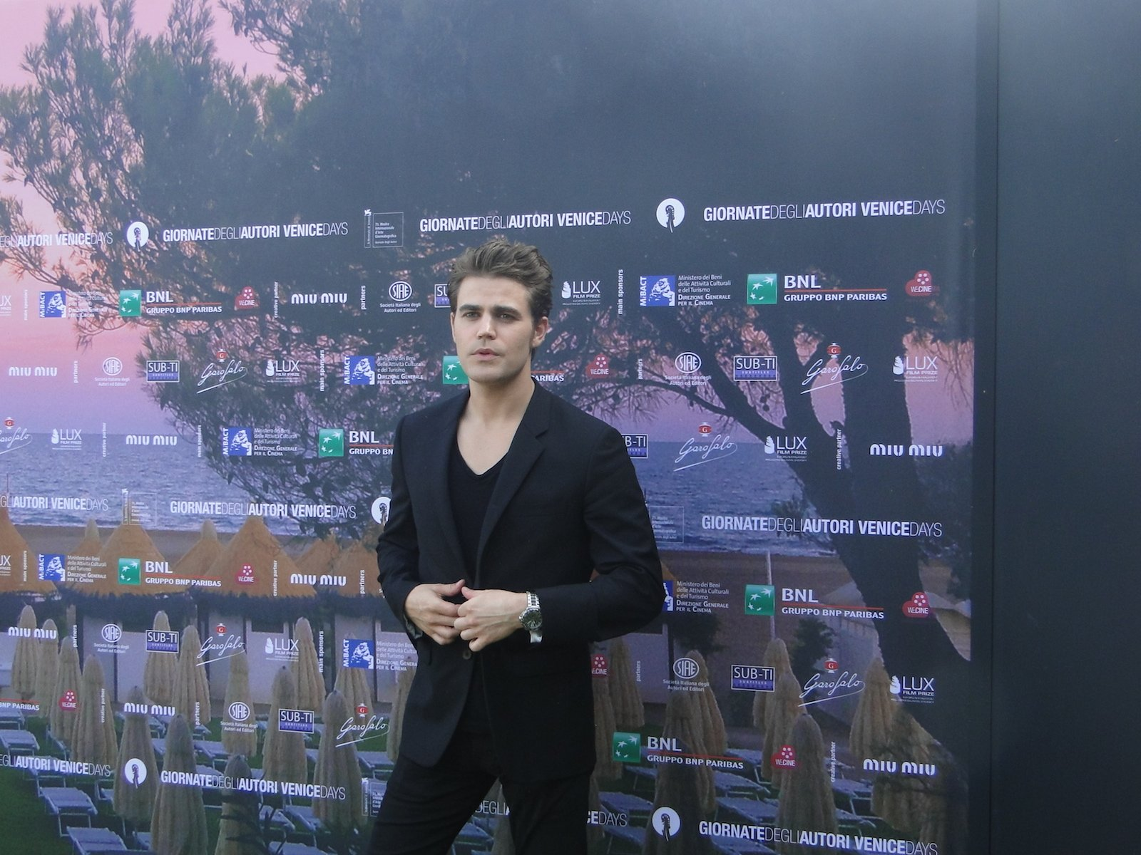Before I Disappear: Paul Wesley posa al photocall del film