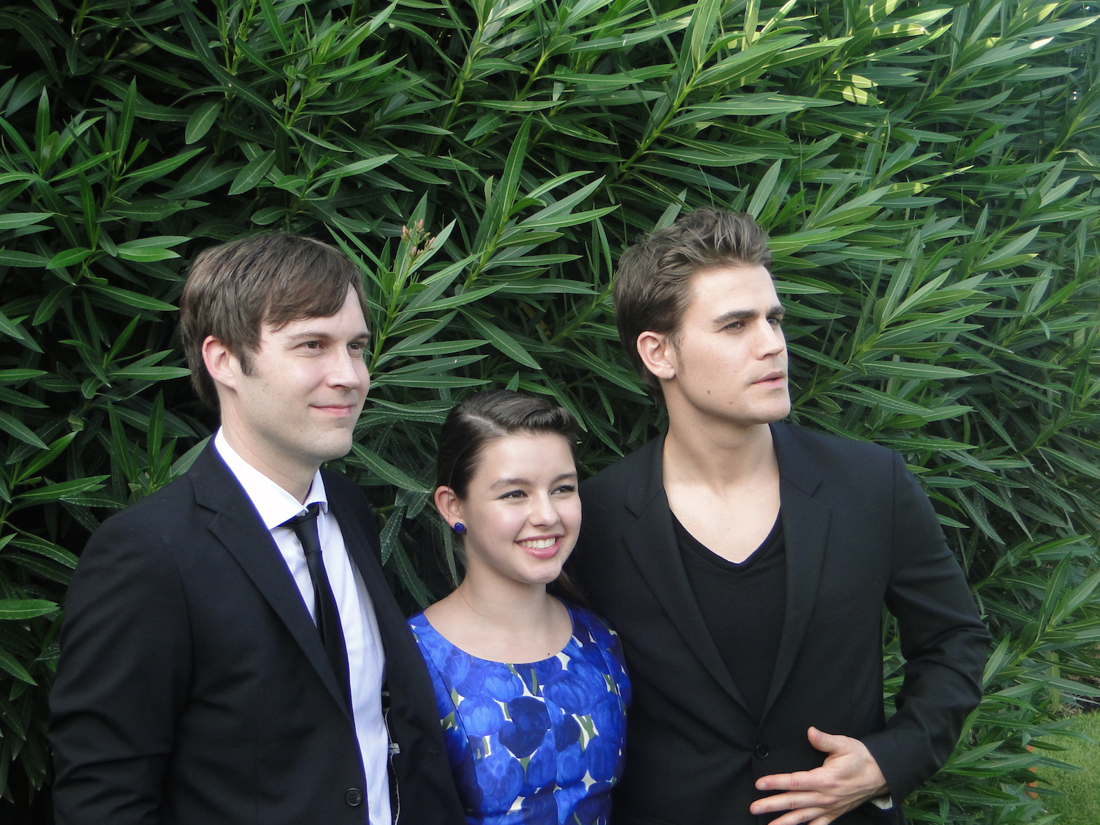 Before I Disappear: Paul Wesley, Fatima Ptacek e Shawn Christensen insieme al photocall del film di Venezia 71