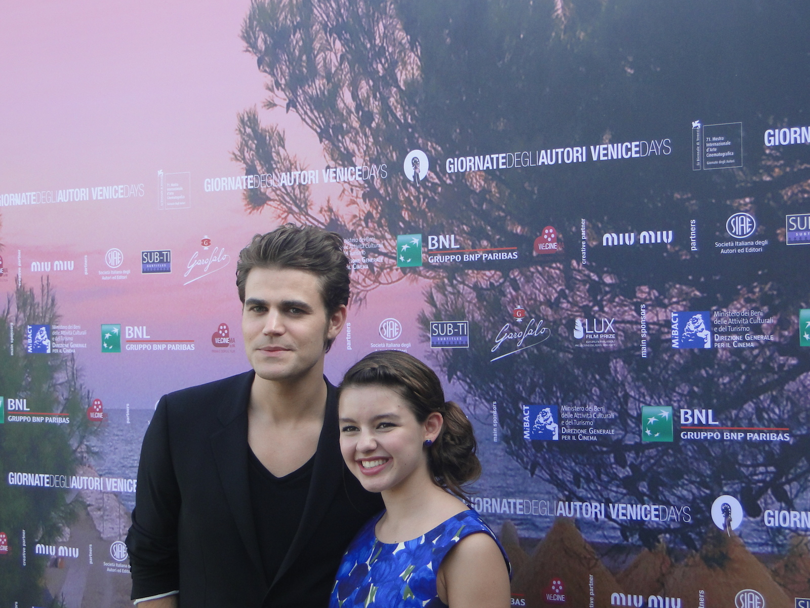 Before I Disappear: Paul Wesley e Fatima Ptacek al photocall del film di Venezia 71