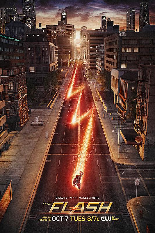 The Flash: una locandina per la prima stagione della serie