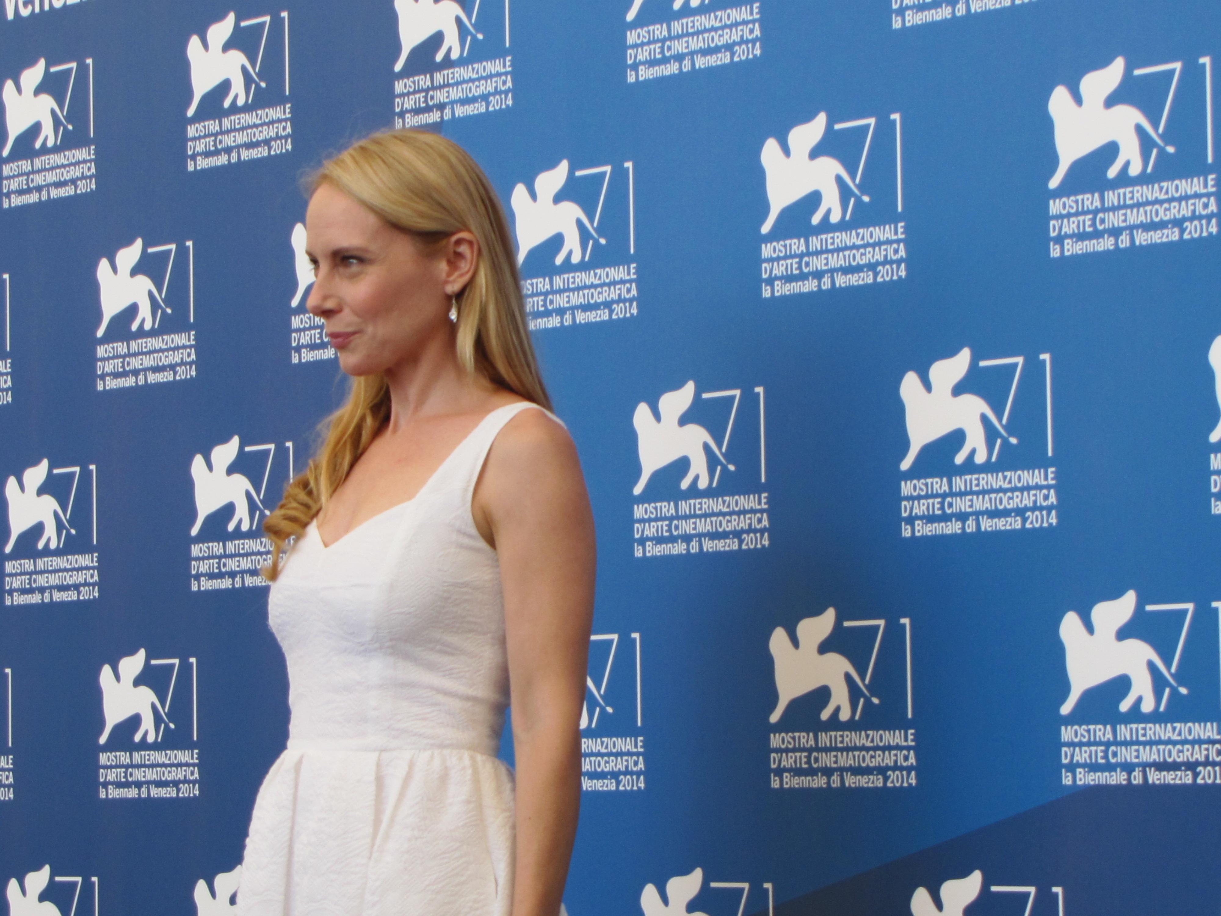 Amy Ryan a Venezia 2014 per BIrdman di Inarritu