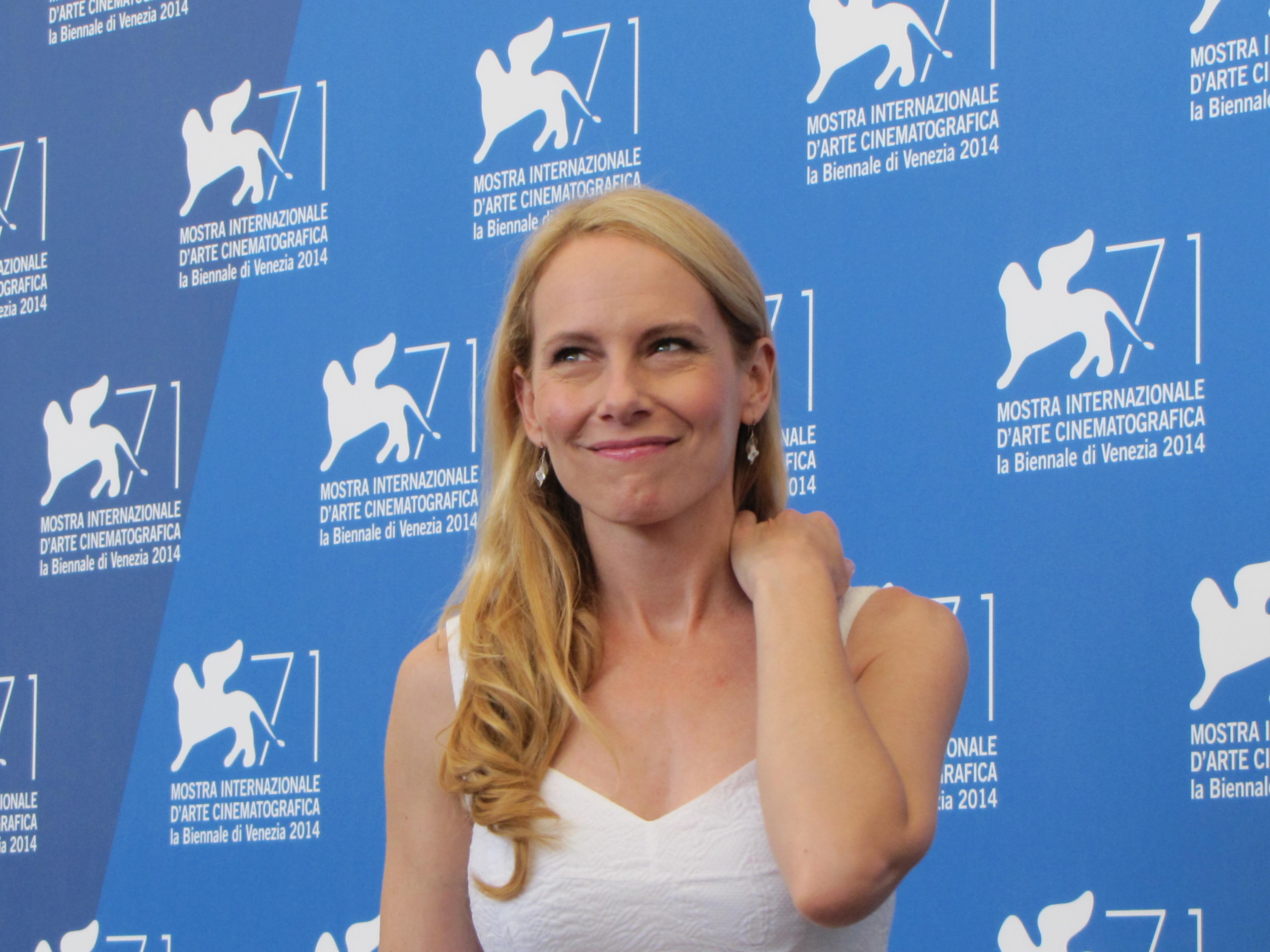 Amy Ryan a Venezia 2014 con BIrdman