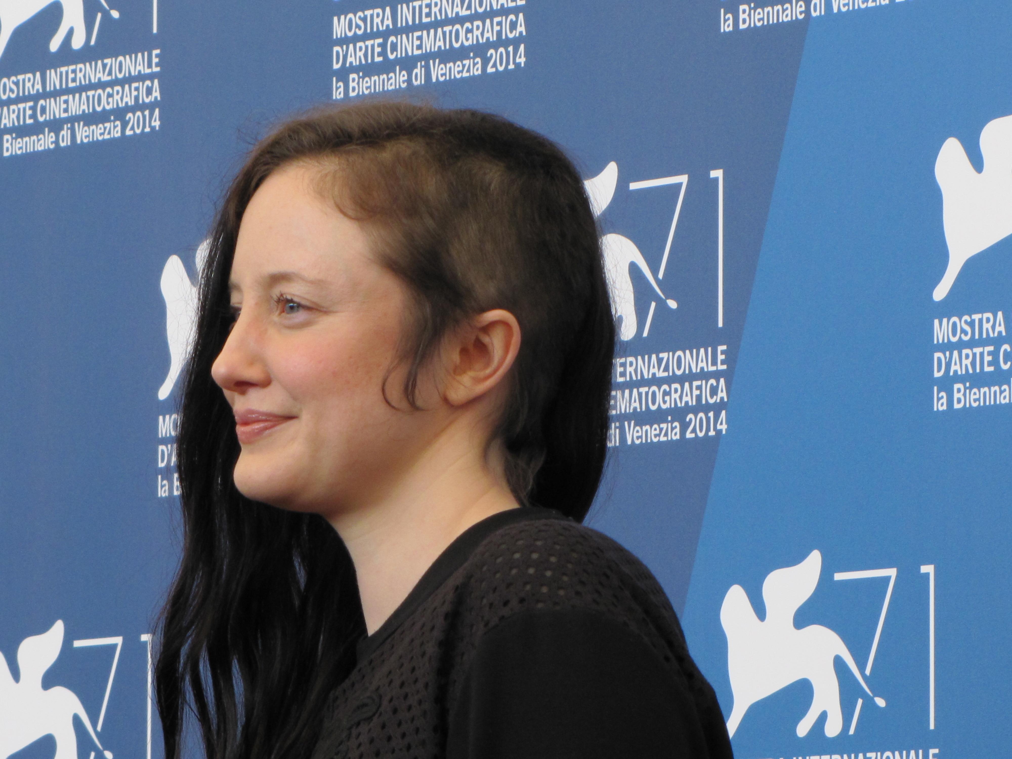 Andrea Riseborough a Venezia 2014 con Birdman