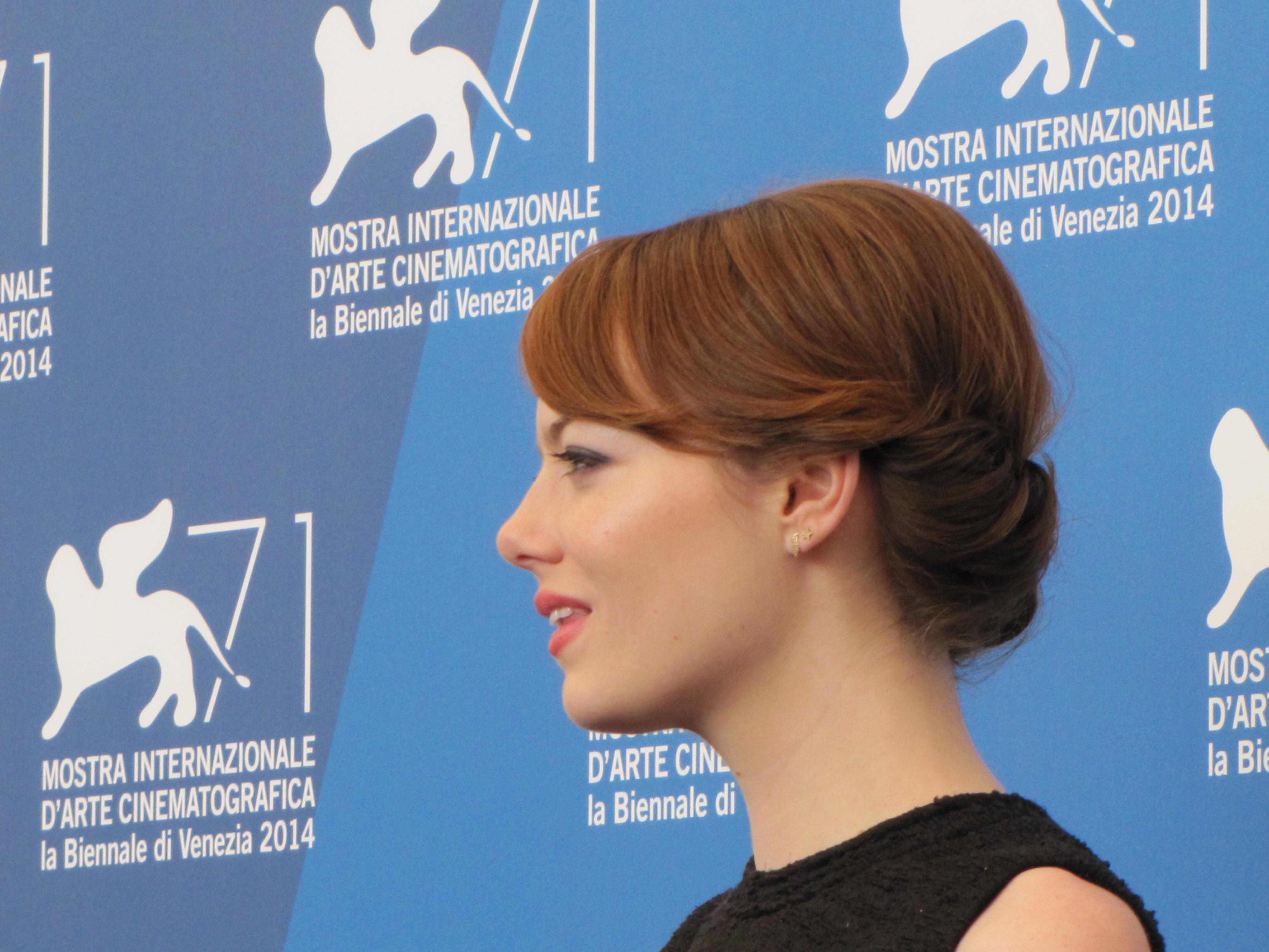 Emma Stone a Venezia 2014 per Birdman