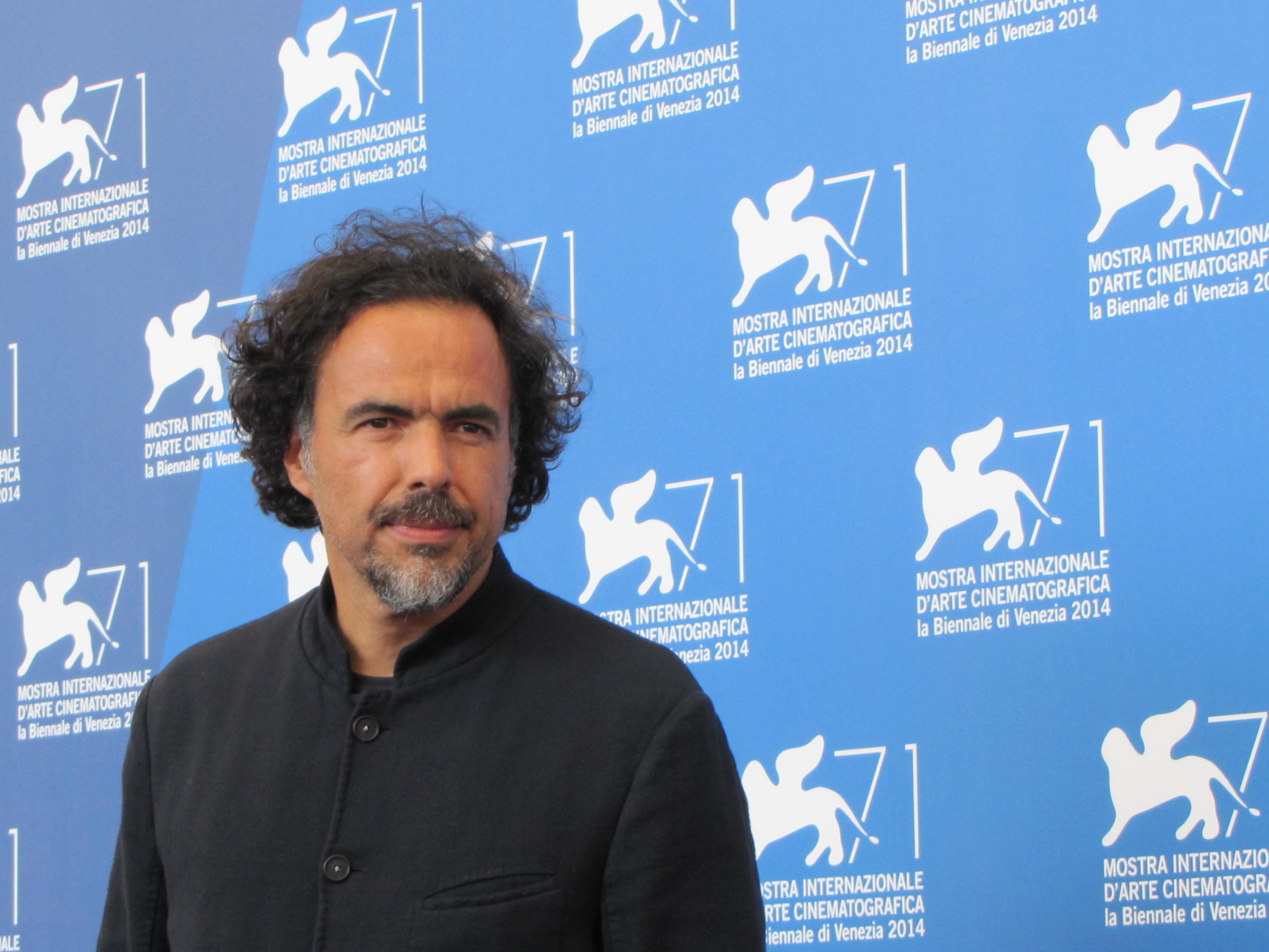Alejandro GOnzalez Inarritu a Venezia con il suo film, Birdman