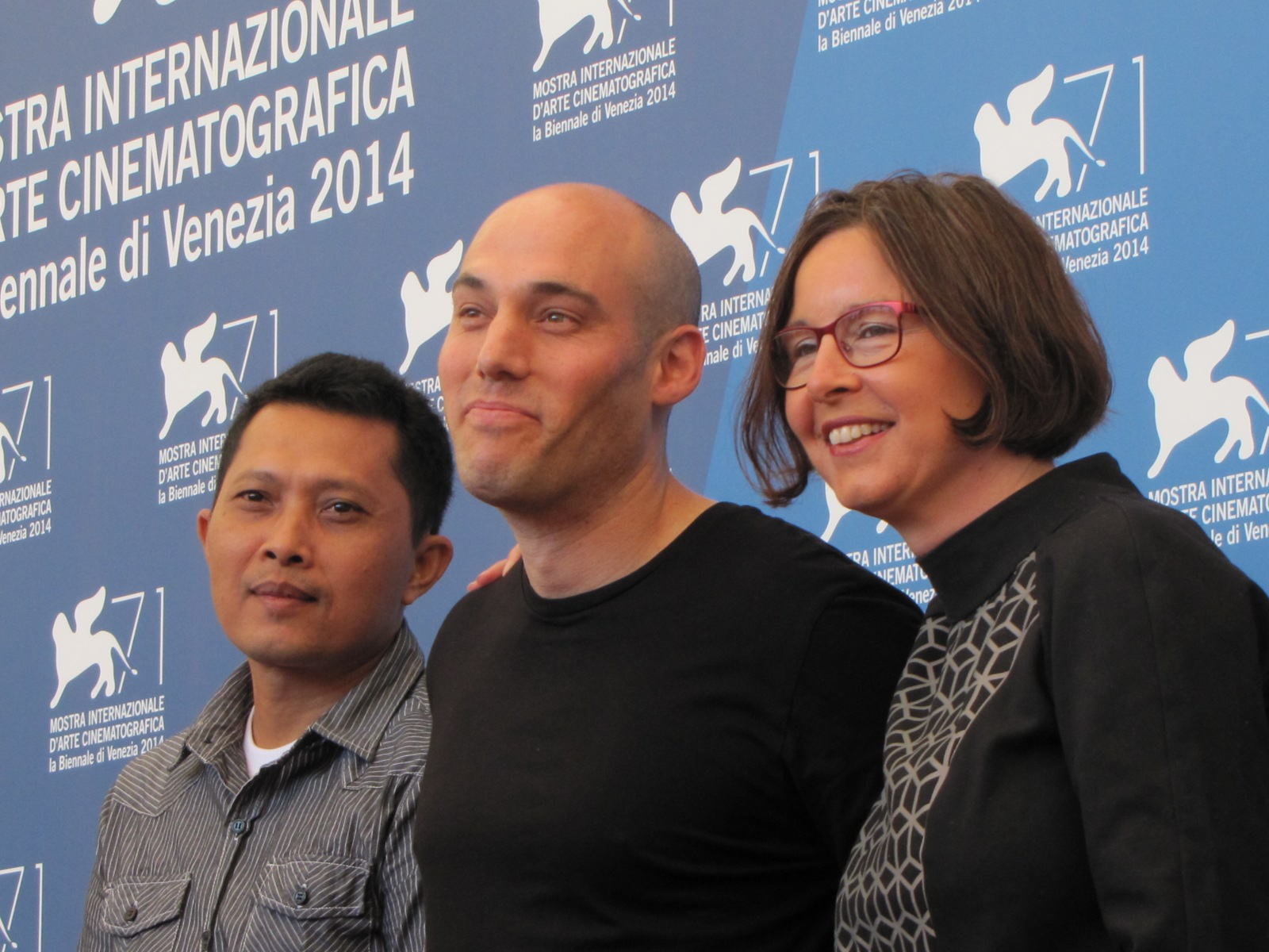 The Look of Silence, Joshua Oppenheimer a Venezia 2014 con Adi Rukun e Signe Byrge Sorensen