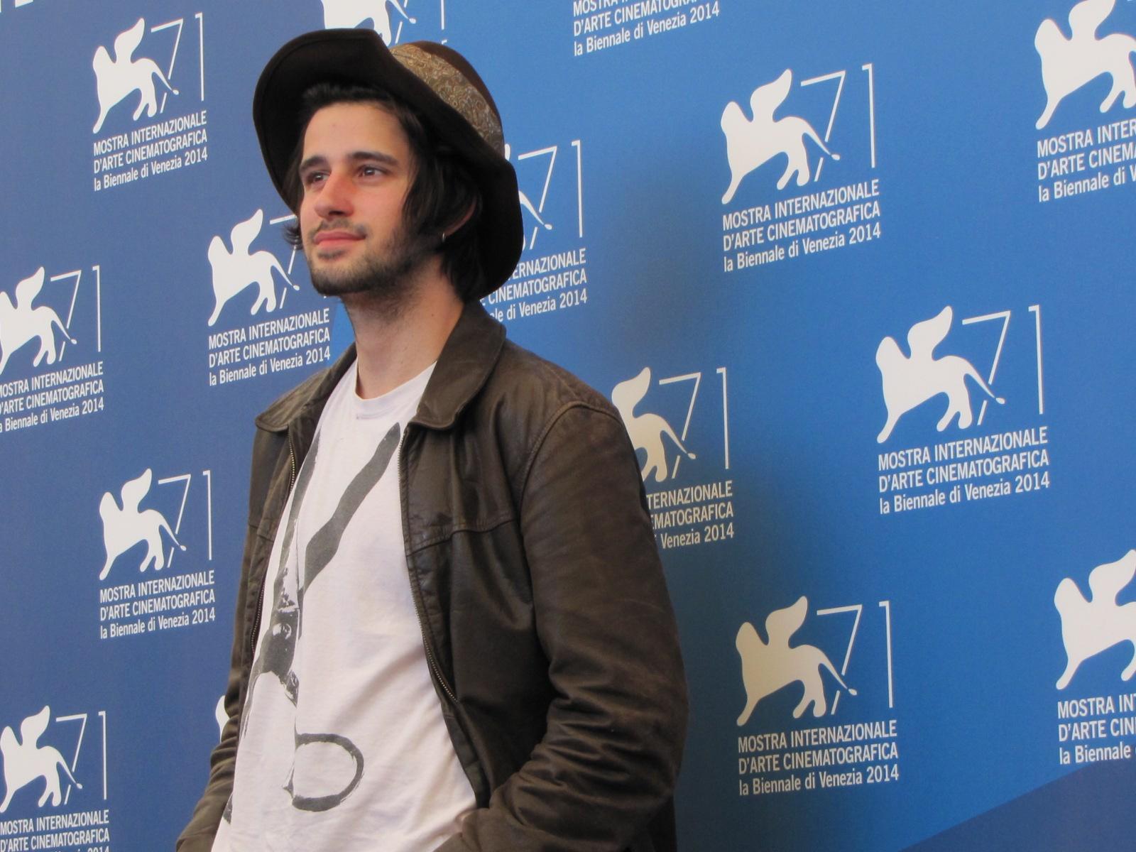 La vita oscena a Venezia 2014, l'attore Clement Metayer