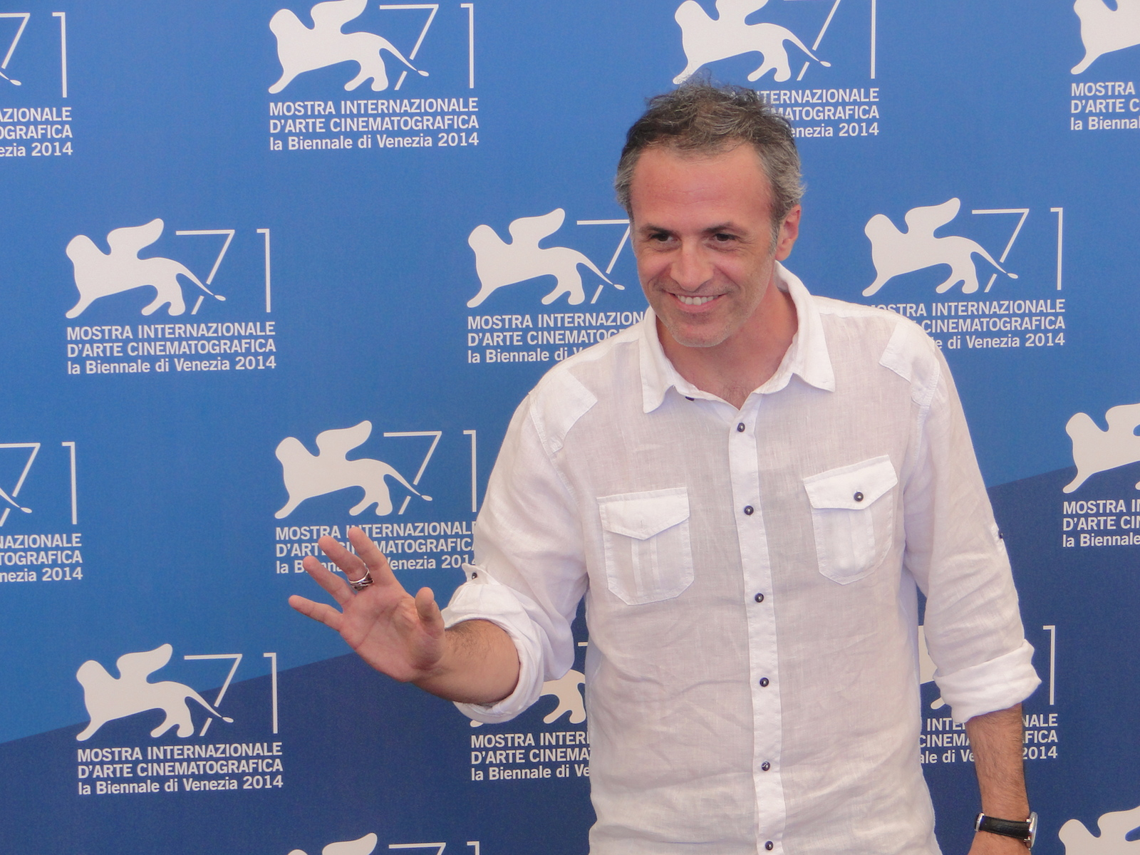Venezia 2014: Fabrizio Ferracane al photocall di Anime nere