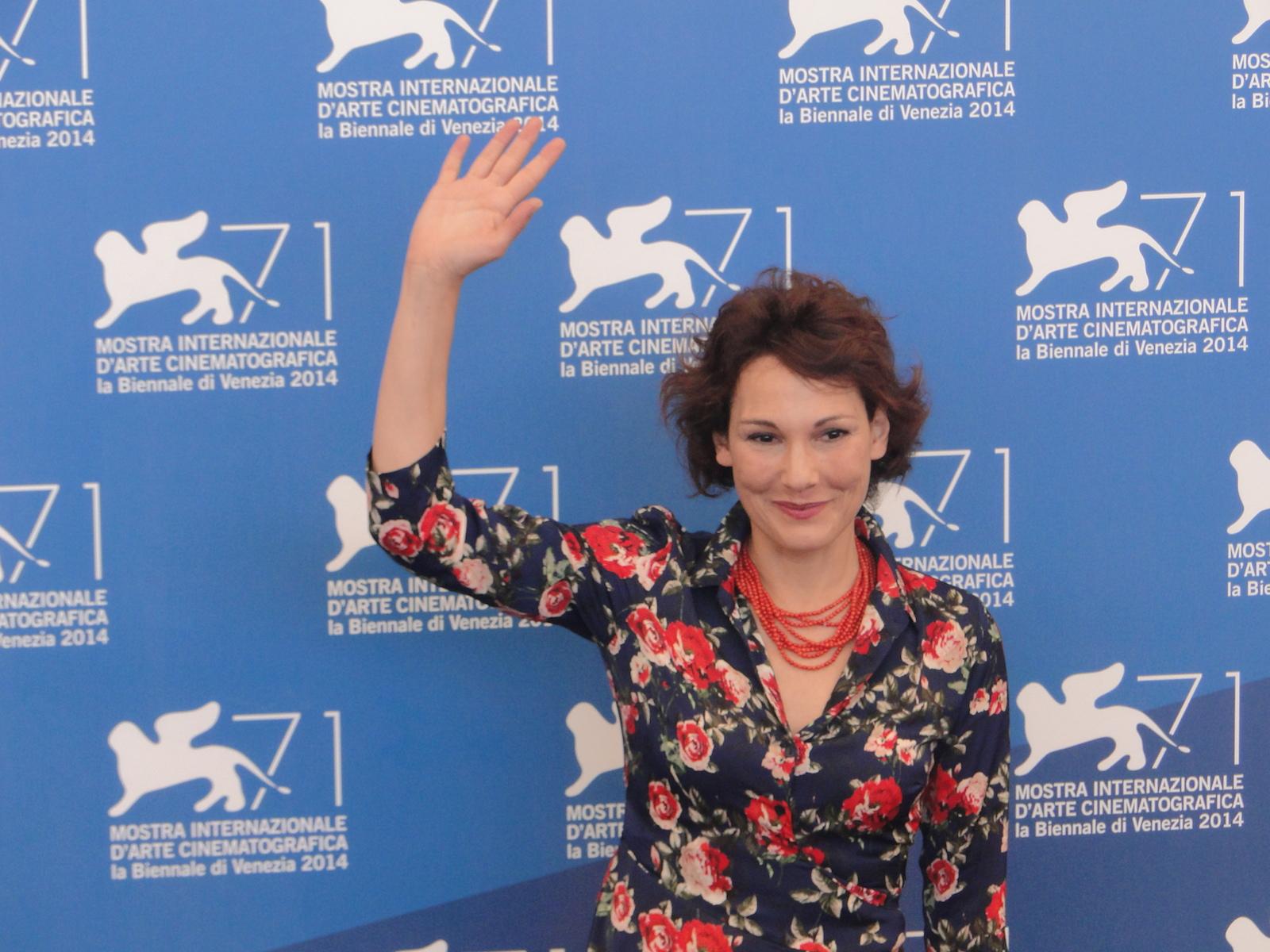 Venezia 2014: Anna Ferruzzo al photocall di Anime nere