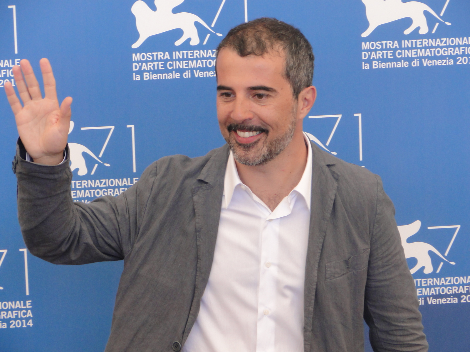 Venezia 2014: Francesco Munzi al photocall di Anime nere