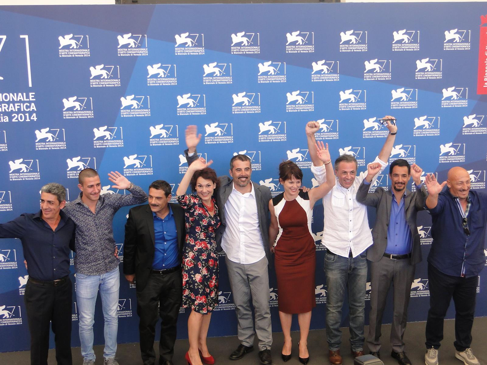 Venezia 2014: il cast di Anime nere al photocall