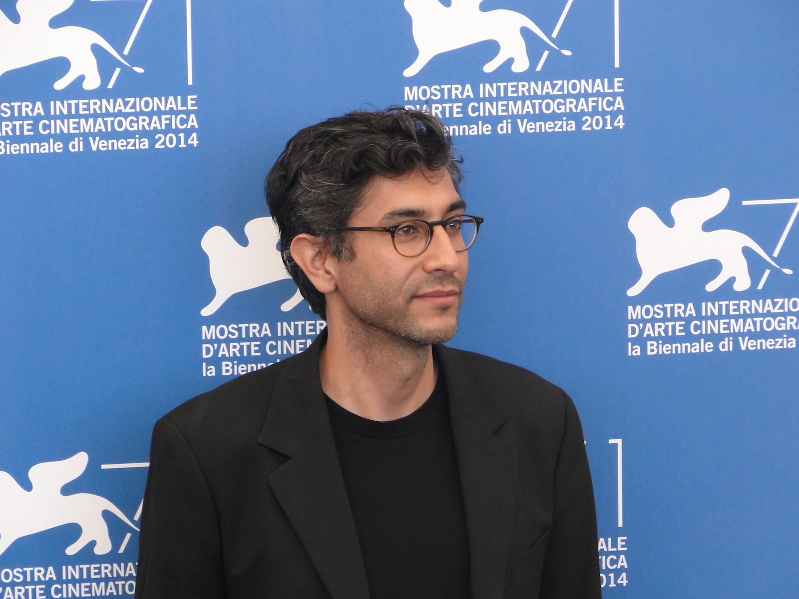 Venezia 2014: il regista Ramin Bahrani posa al photocall di 99 Homes