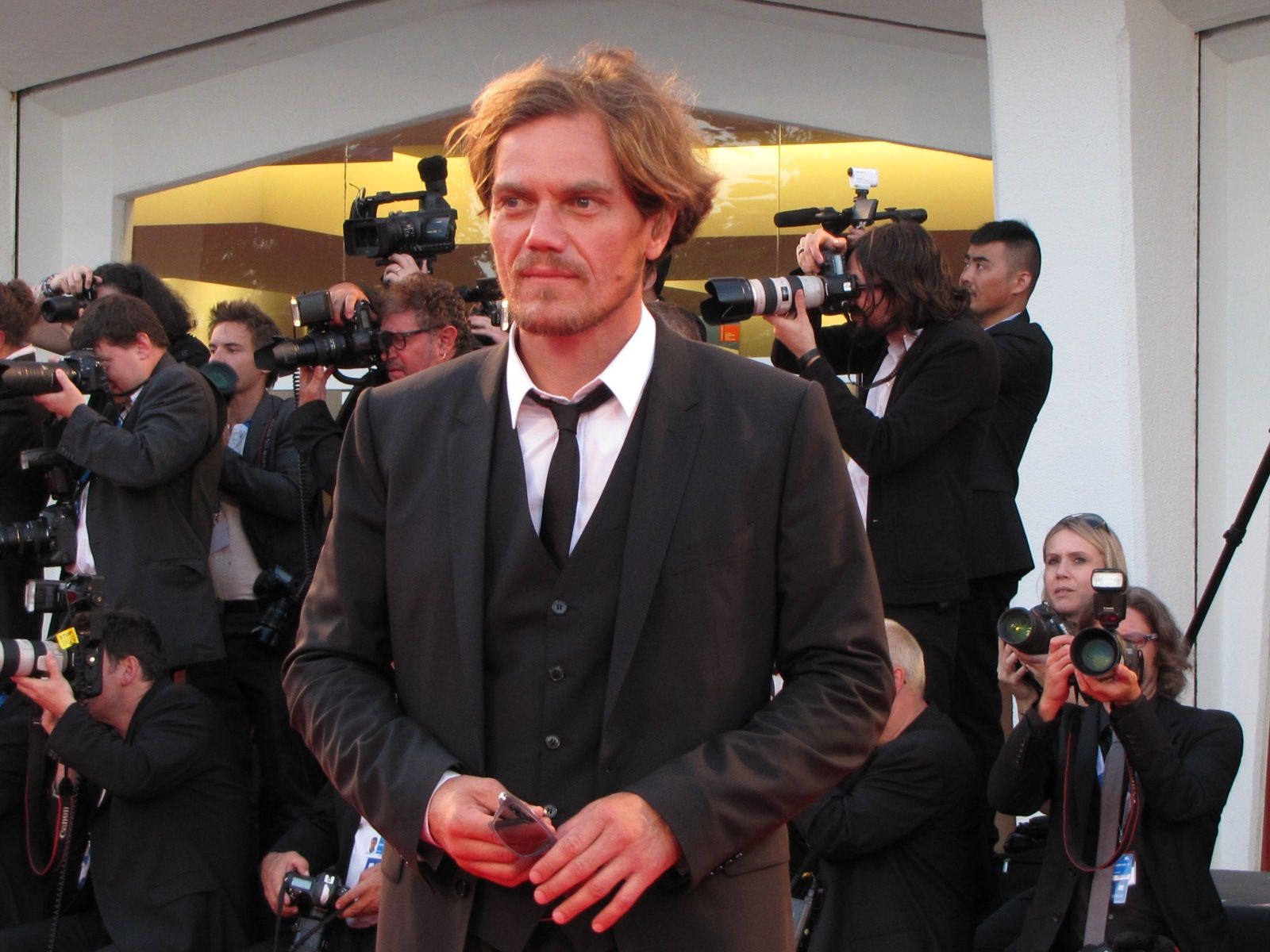 99 Homes, Michael Shannon sul red carpet di Venezia 2014