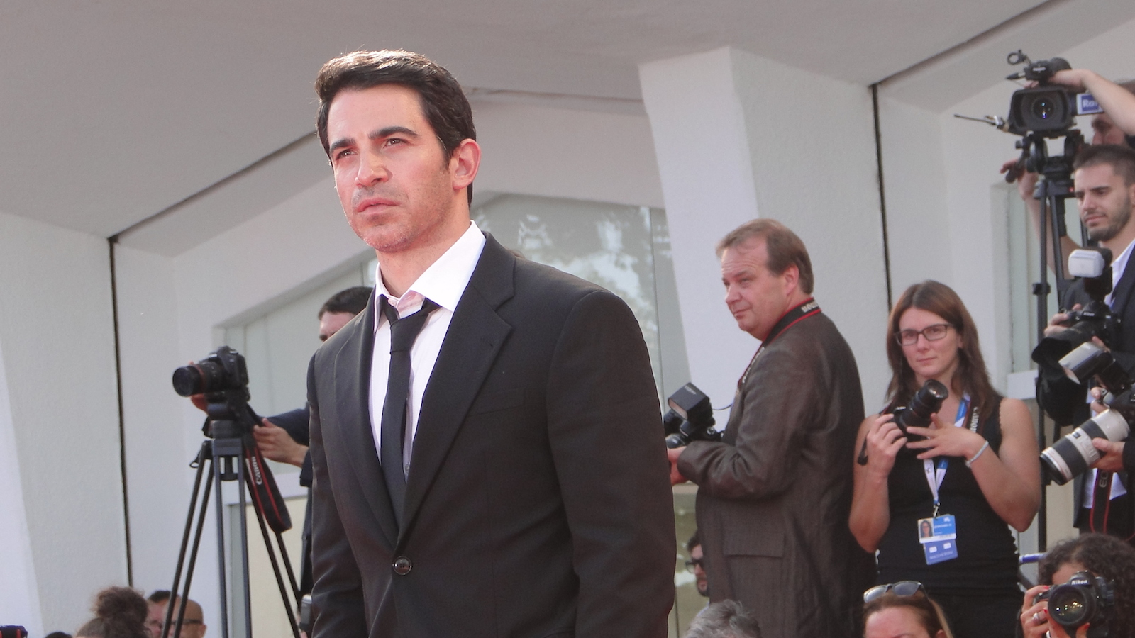 Venezia 2014: Chris Messina sul red carpet per Manglehorn