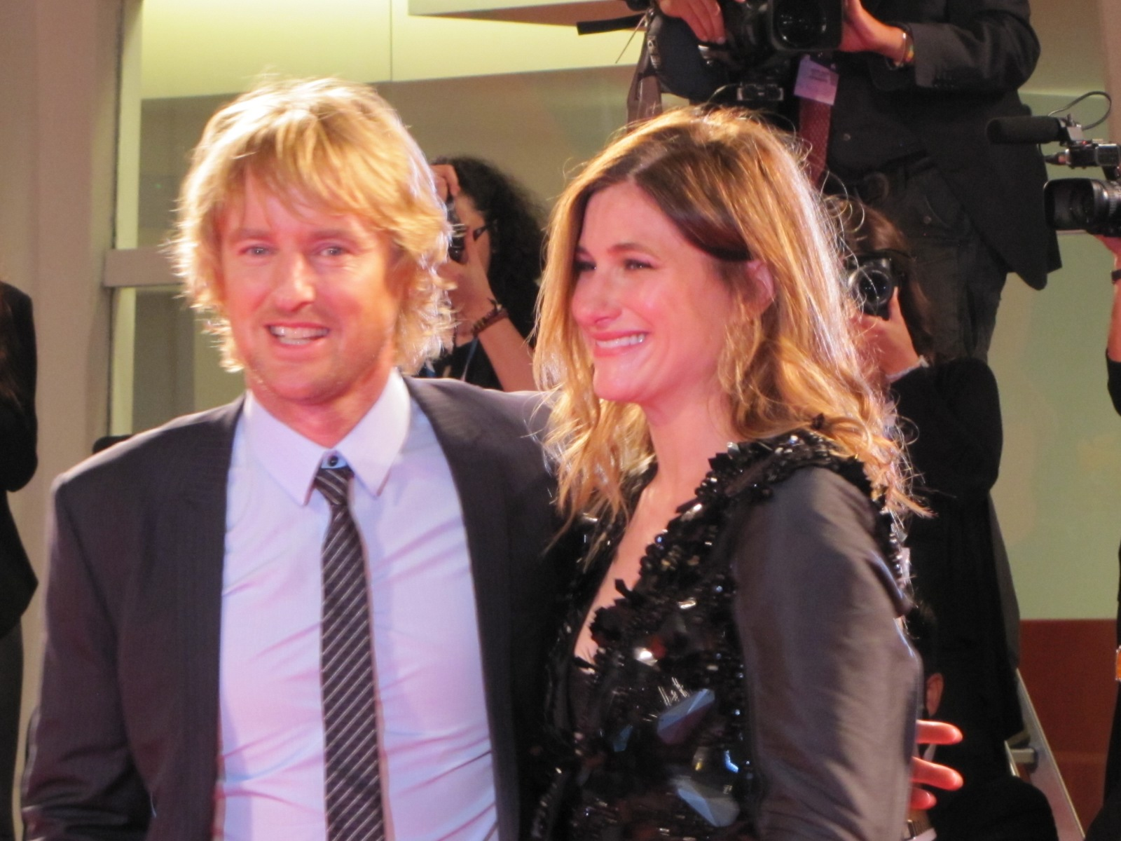 She's Funny That Way  - Owen Wilson e Louise Stratten sul red carpet a Venezia 2014