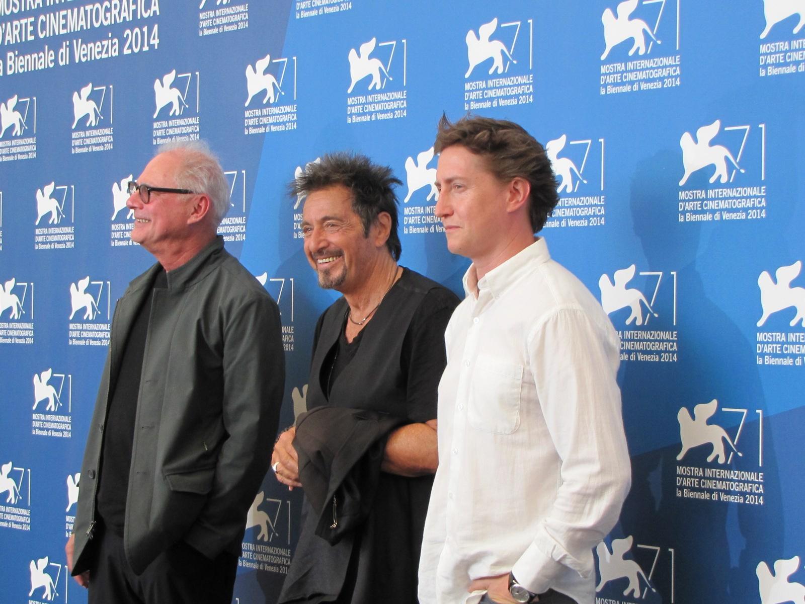 Due film (e due registi) per Al Pacino a Venezia 2014 - David Gordon Green per Manglehorn e Barry Levinson per The Humbling
