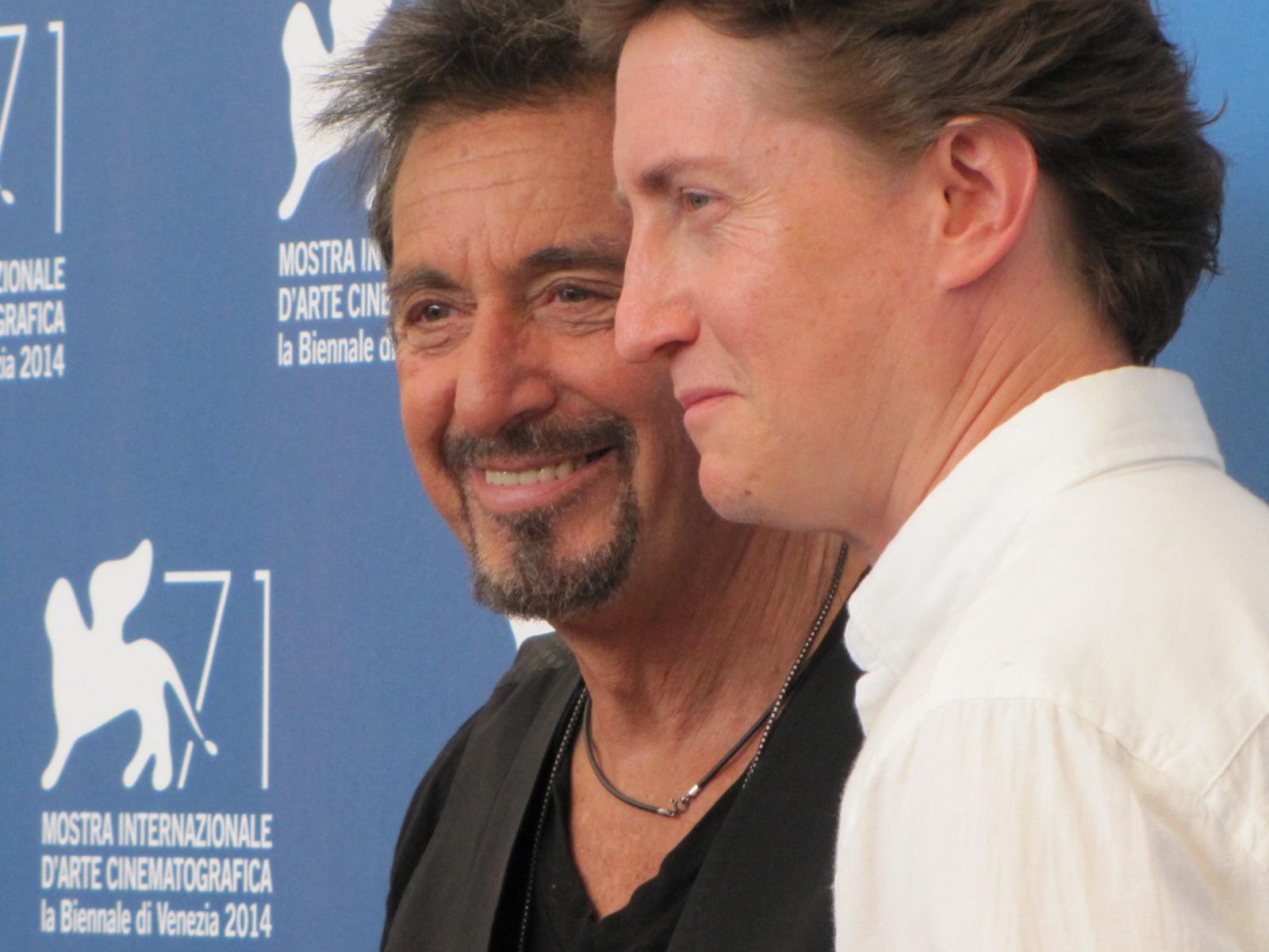 Manglehorn a Venezia 2014 - Pacino accanto a David Gordon Green