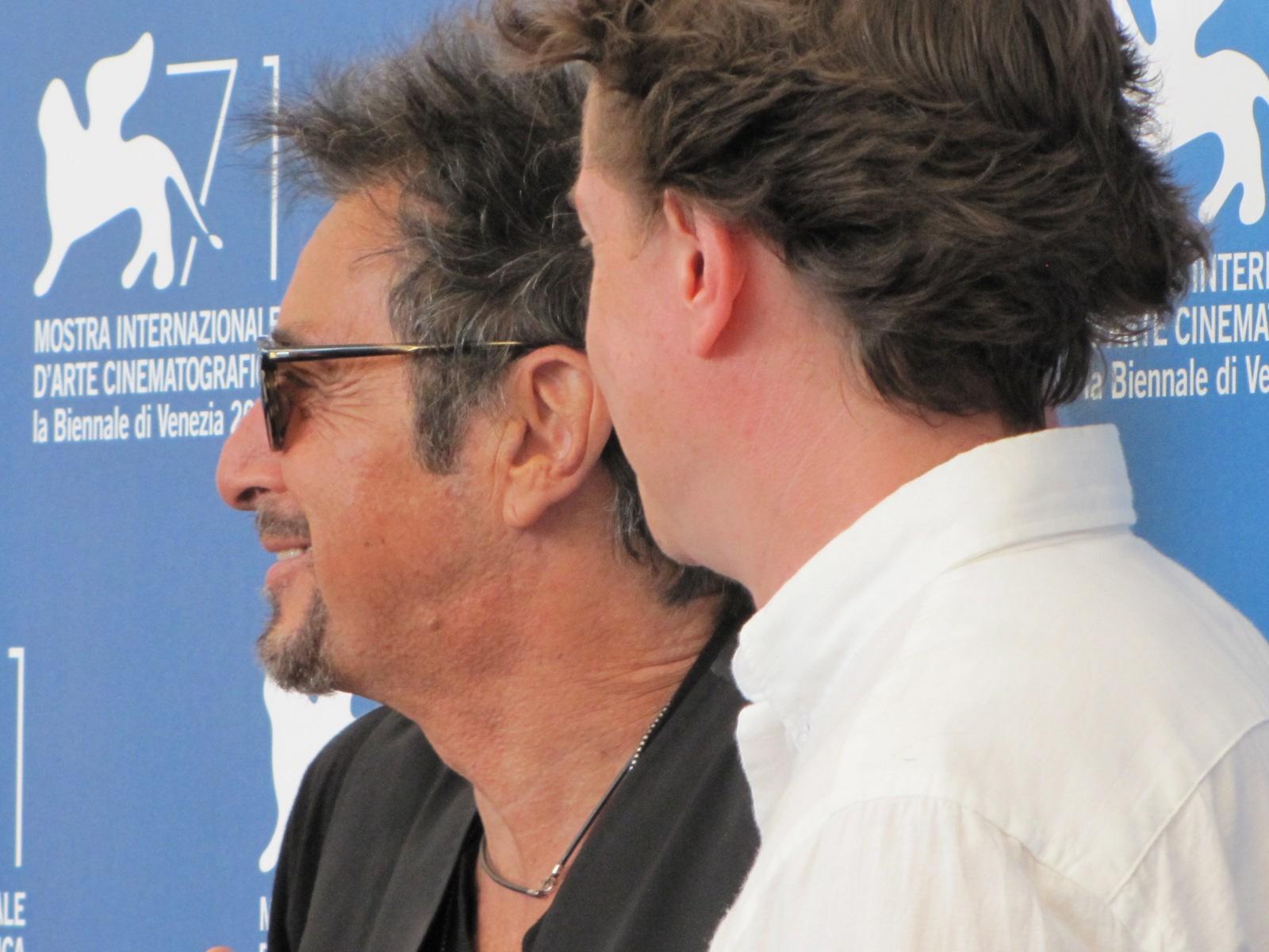 Manglehorn a Venezia 2014 - David Gordon Green con Al Pacino
