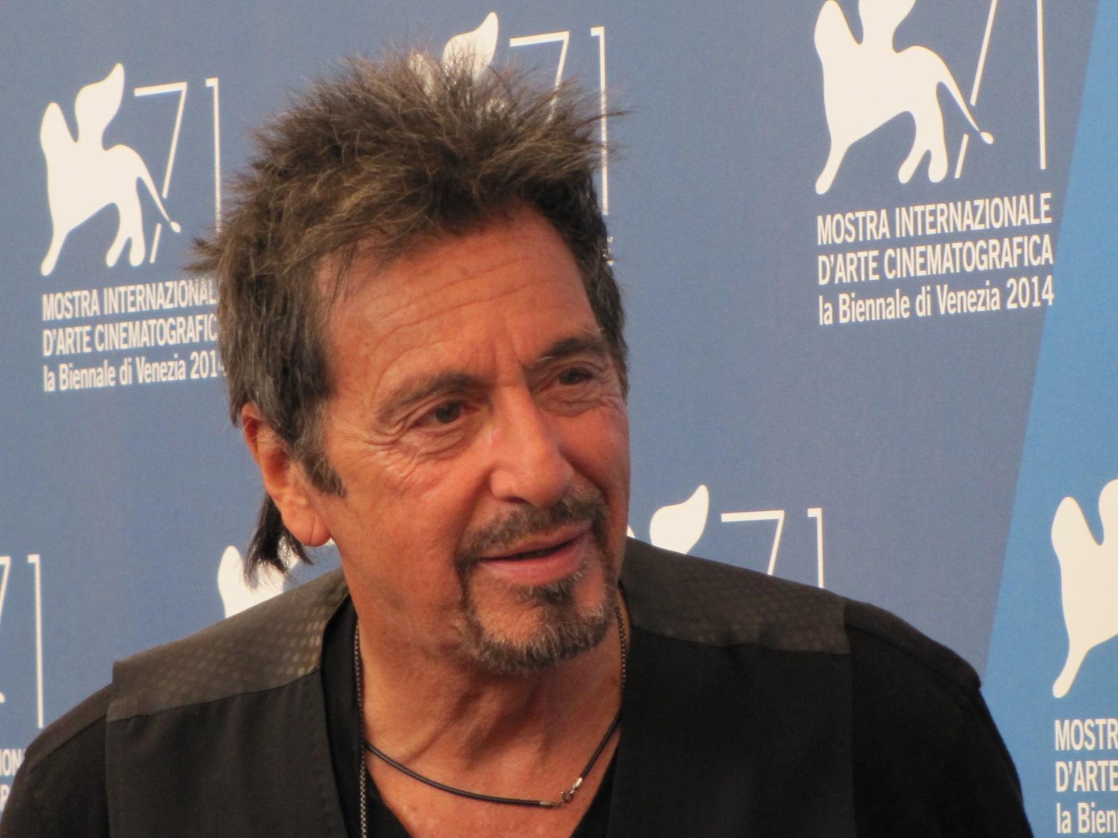 Al Pacino alla Mostra di Venezia 2014 con due film: Manglehorn e The Humbling