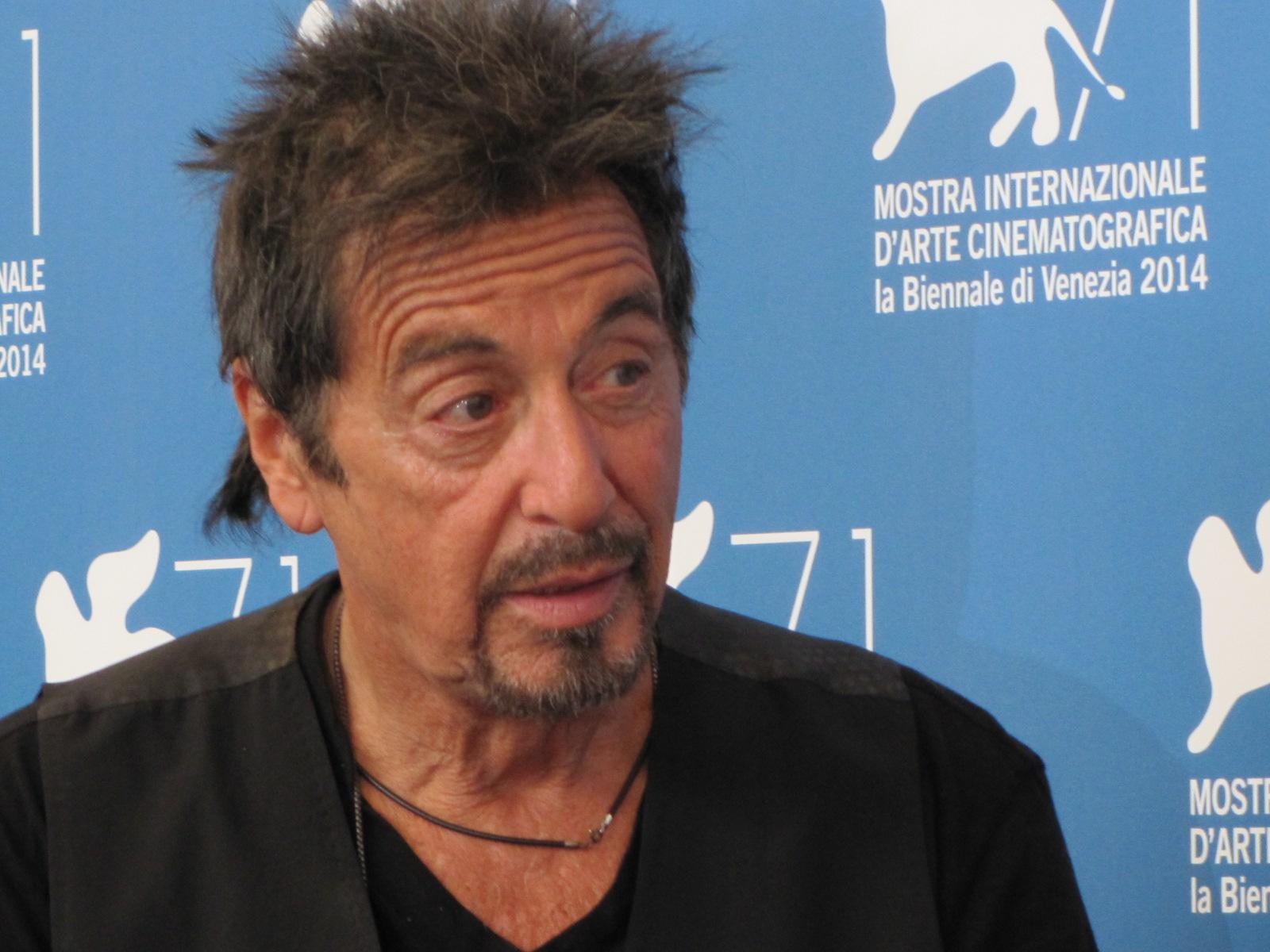 Al Pacino alla Mostra del Cinema di Venezia 2014 con due film: Manglehorn e The Humbling