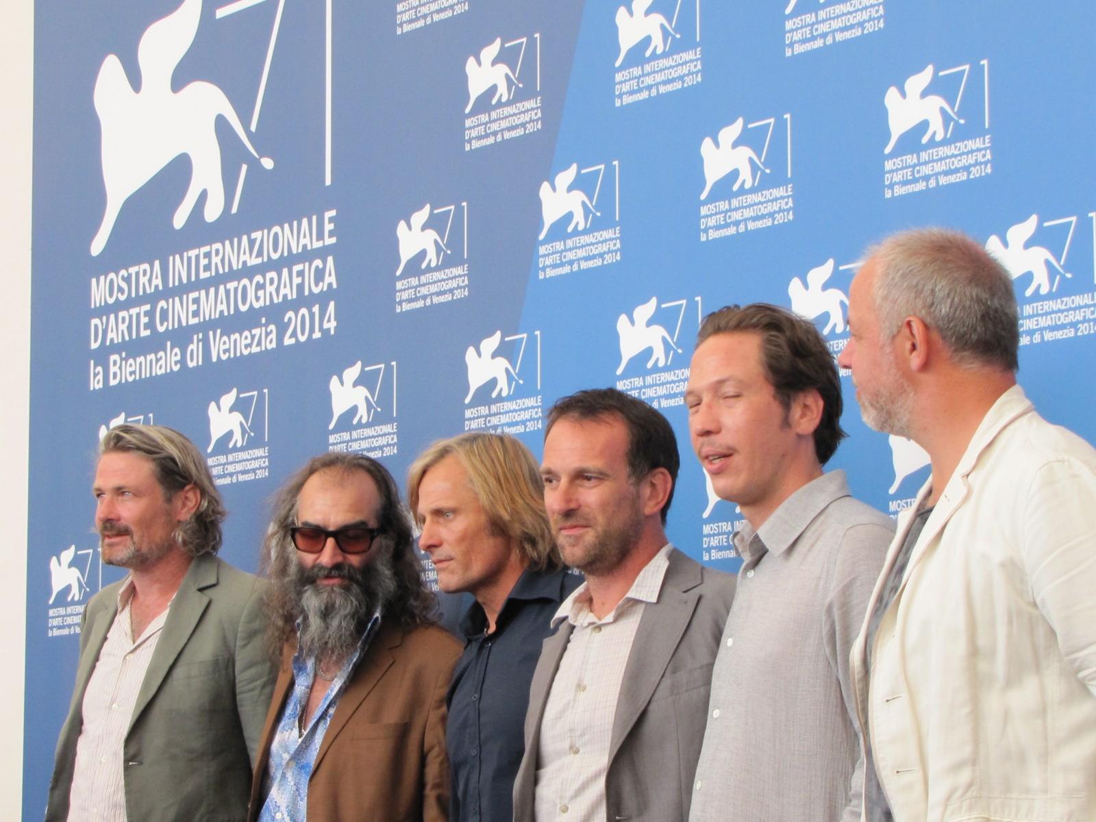 Loin des Hommes a Venezia 2014 - Viggo Mortensen con il cast e i realizzatori del film