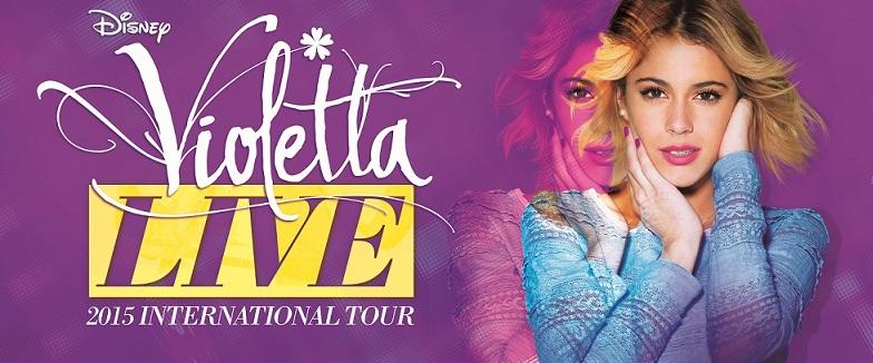 La locandina di Violetta Live