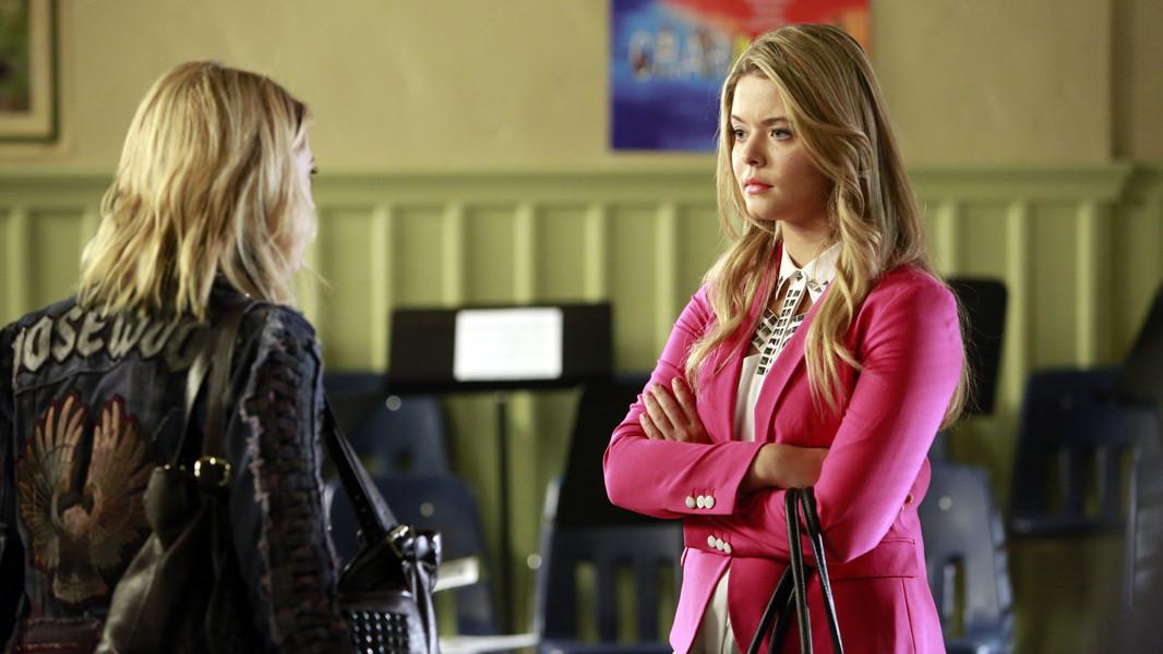 Pretty Little Liars: Sasha Pieterse nell'episodio March of Crimes