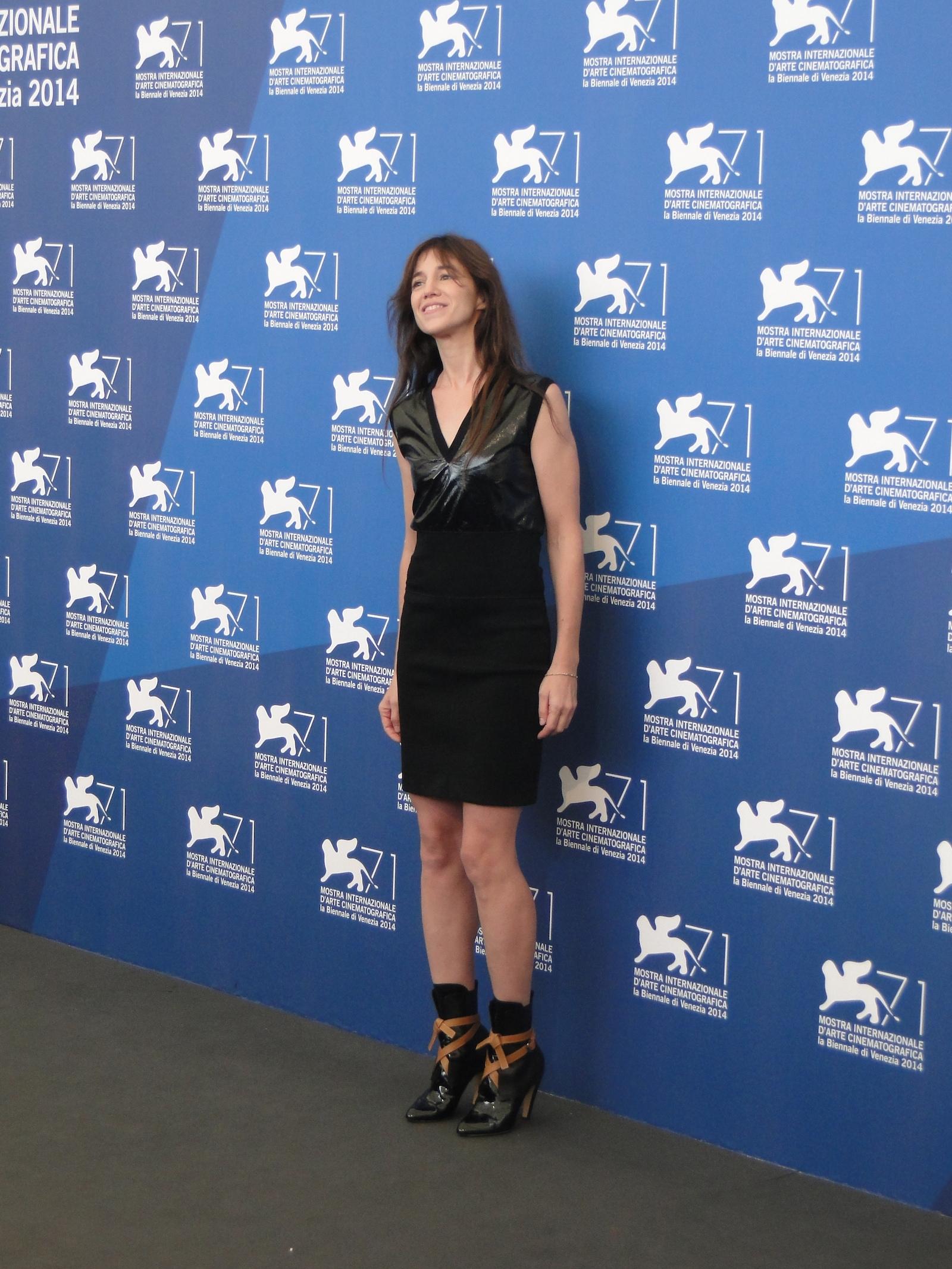 Nymphomaniac Volume II: Charlotte Gainsbourg al photocall di Venezia 2014