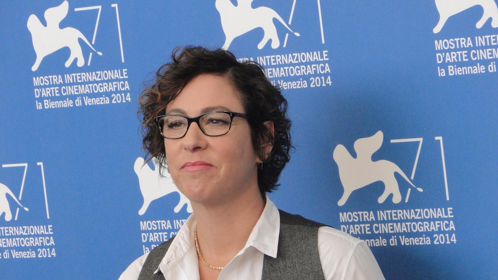 Olive Kitteridge: la regista Lisa Cholodenko al photocall di Venezia 2014