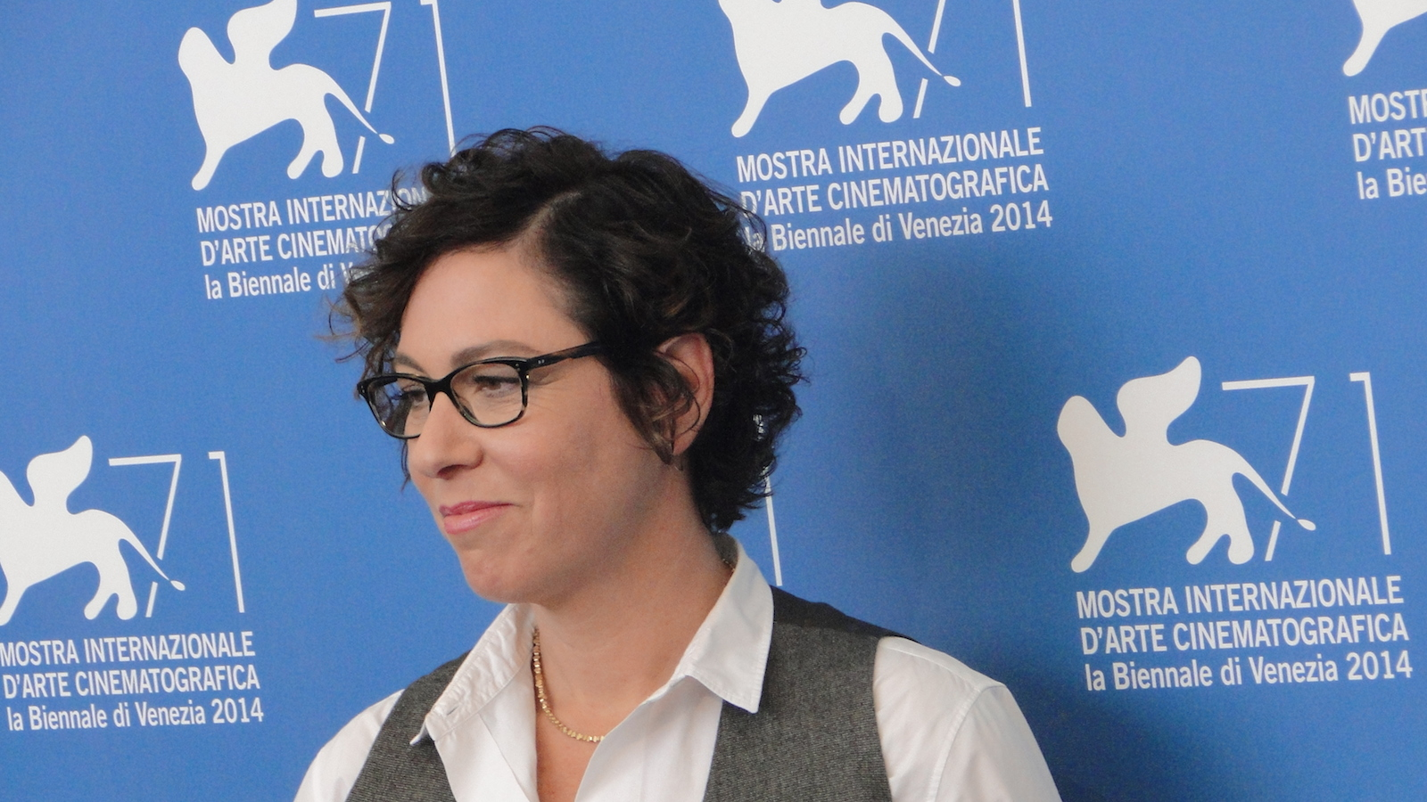Olive Kitteridge: Lisa Cholodenko posa al photocall di Venezia 2014