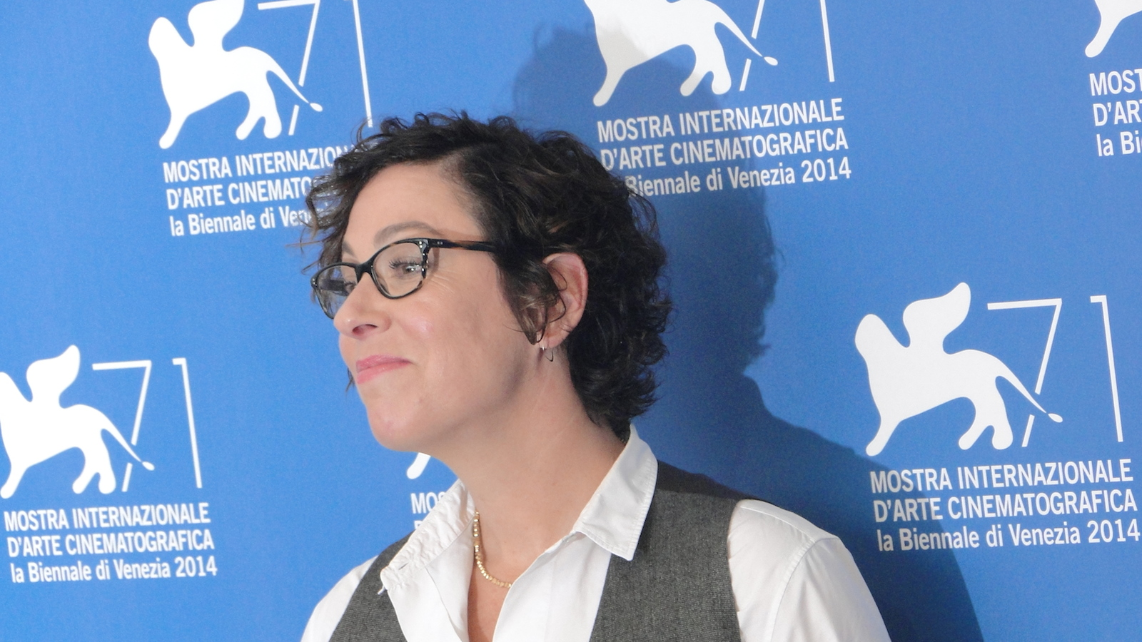 Olive Kitteridge: Lisa Cholodenko al photocall di Venezia 2014
